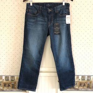 Lucky Brand Sweet Jean Crop Curvy Fit Size 26/2